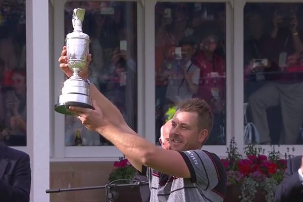 Stenson se convierte en rey de Escocia tras brillar y reventar el récord en The Open. García, enorme T5