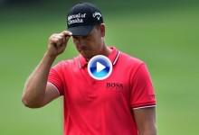 Estos fueron los golpes destacados en la segunda jornada del US PGA, último Grande del año (VÍDEO)