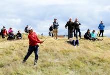 """Jorge Campillo hace frente al viento escocés. El extremeño es 4º en el Scottish Open y """"Cañi"""", 10º"""