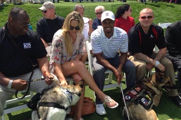 Vonn sigue recordando con cariño al golfista un año después de la ruptura. Foto: @lindseyvonn