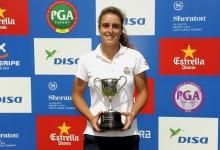 Marta Sanz se impone en el DISA Campeonato WPGA de España tras cuatro hoyos de desempate
