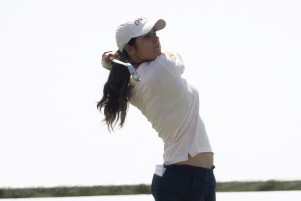 Natalia Escuriola en el Campeonato de España Profesional Femenino. Foto Angel Mier