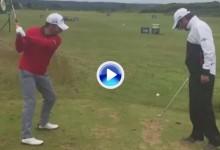 Pablo Larrazábal y Raúl Quirós dejan este Trick Shot para el recuerdo desde Castle Stuart (VÍDEO)