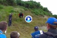 El Golf es duro: Reed (13º OWGR) se las vio y deseó para permanecer de pie en este golpe (VÍDEO)