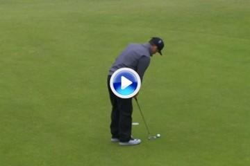 El Golf es duro: Paul Casey hizo ¡¡5 putts!! en el par 4 del hoyo 7, alguno de menos de 2 palmos (VÍDEO)