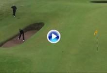 El Golf es duro: El ataúd de Troon (bunker del hoyo 8) fue la tumba del inglés Paul Howard (VÍDEO)