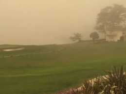 Pebble Beach podría verse afectado por el terrible incendio forestal que asola California (Inc. VÍDEO)