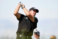 Mickelson llega con ganas a Baltusrol, campo en el que consiguió en el año 2005 su único PGA Champ.