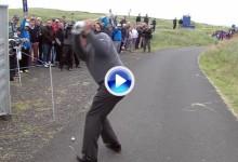 Estos son los 10 mejores golpes en la historia del Scottish Open. Mickelson protagonista (VÍDEO)