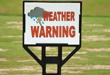 El tiempo le dio la espalda al golf. Las lluvias y la tormenta eléctrica, portada en Baltusrol