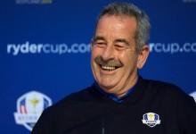 Clarke confirma que el escocés Sam Torrance será el 5º y último vicecapitán de Europa en la Ryder
