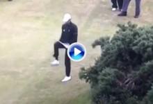 McIlroy, un aficionado rompiendo palos comparado con Pieters. «Así» se parte un palo de golf (VÍDEO)