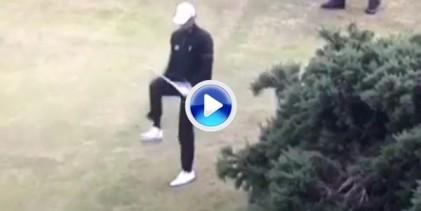 """McIlroy, un aficionado rompiendo palos comparado con Pieters. """"Así"""" se parte un palo de golf (VÍDEO)"""