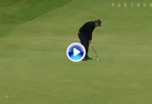 Stenson y Mickelson monopolizan los mejores golpes de la 3ª jornada en The Open  (VÍDEO)