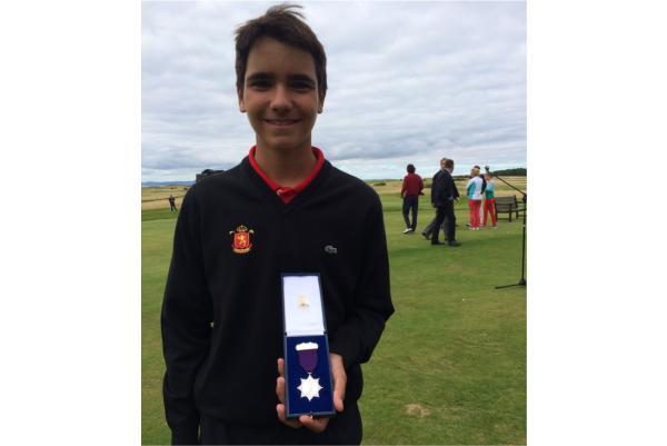Alberto Aguilera subcampeón del British Boys 2016