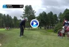 Este golpazo de Noren por encima de los árboles, candidato al mejor de la semana en el Tour (VÍDEO)