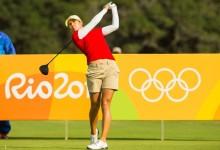 La olímpica Azahara Muñoz, referencia en el Andalucía Costa del Sol Open de España Femenino