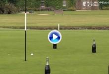 Bjorn logra el Trick Shot más burbujeante del curso en la previa del Paul Lawrie Match Play (VÍDEO)