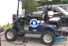 Unos ladrones se llevan varios coches de golf valorados en más de 30.000 dólares (VÍDEO)