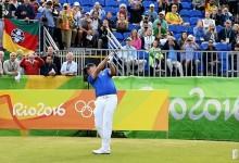 Más de un siglo después Adilson da Silva pone en marcha el Golf en unos Juegos Olímpicos