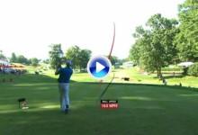 Hunter Mahan tuvo puntería telescópica. Metió la bola en green desde el tee desde 278 yds. (VÍDEO)