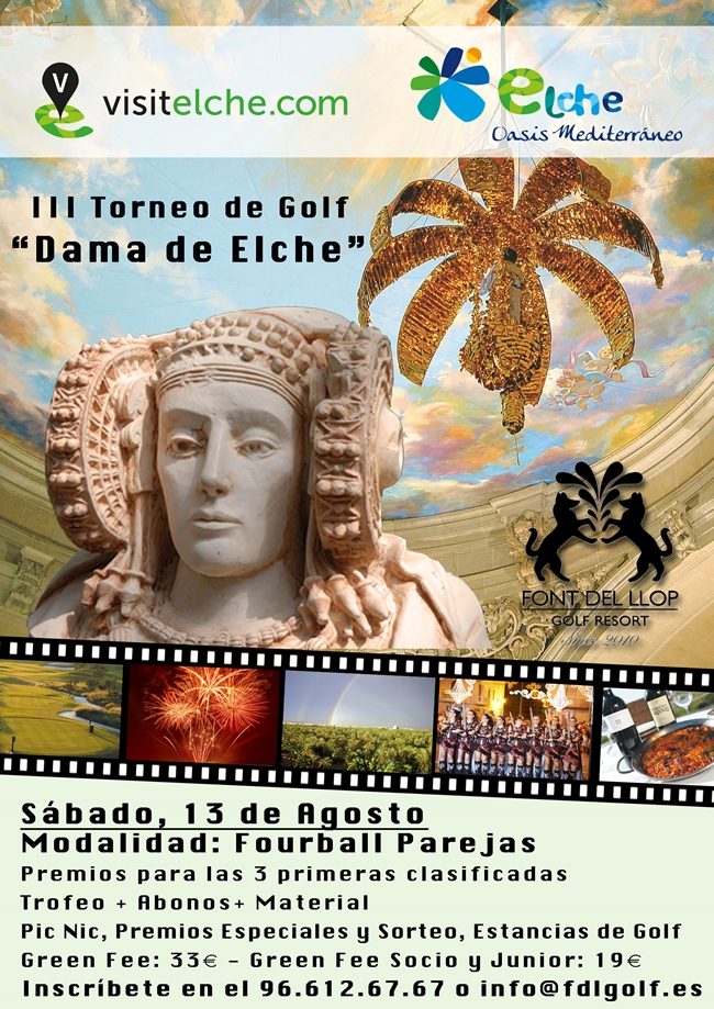 III Torneo de Golf __Dama de Elche__