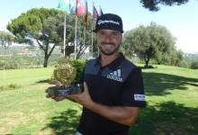 Javi Colomo hace doblete con su victoria en el Club de Campo en el Circuito de Madrid de Profesionales