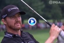 Estos fueron los golpes destacados en la última jornada del US PGA, último Grande del año (VÍDEO)