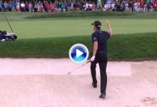 Los 10 golpes del año en el PGA: Nº6. El US PGA para Walker gracias a esta sacada de bunker (VÍDEO)