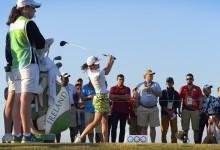 La carioca Miriam Nagl dio el pistoletazo de salida al Golf olímpico femenino en Marapendi