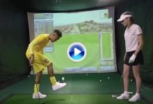 Neymar Jr. realizó un Trick Shot con los pies tras intentar iniciarse sin mucho éxito en el golf (VÍDEO)