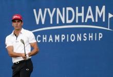 ¡Boooom! Cabrera-Bello pone patas arriba el Wyndham tras firmar un increíble 63. Rahm, al par
