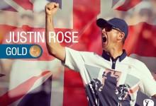 Justin Rose es de oro. El golfista le da a Gran Bretaña una medalla histórica con un gran torneo