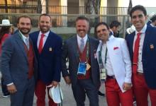 García y Cabrera-Bello ya saben lo que es participar en la inauguración de unos JJ.OO. (Incluye VÍDEO)