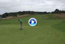 ¡Fantástico! Este birdie le dio el liderato y el triunfo a Álvaro Velasco en el Cordon Golf francés (VÍDEO)