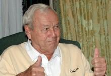 Arnold Palmer visitó España en 2010. Así vivió esta leyenda del golf esas 48 horas en nuestro país