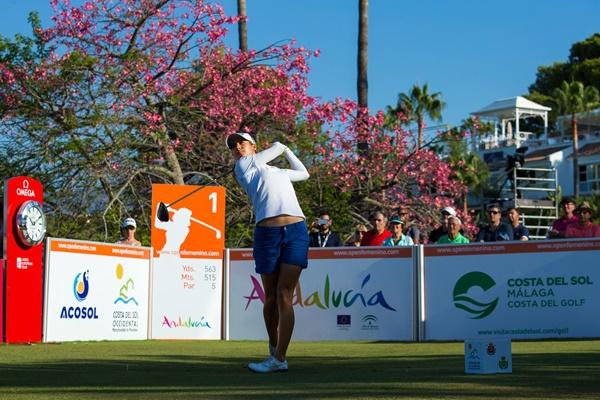 La malagueña luchará mañana por el primer triunfo español en un Open de España femenino. Foto: @LET
