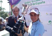 Azahara Muñoz rompe el maleficio en el Open de España con un triunfo épico basado en la paciencia