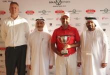 Un eagle en el tercer hoyo del PlayOff da la primera victoria a Carlos Balmaseda en el MENA Golf Tour
