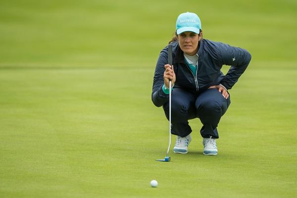 La golfista suiza, eliminada a las primeras de cambio por no rectificar a tiempo. Foto: @LadiesEuropeanTour