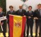 España se viene de vacío del Mundial Masculino de México. Acabó a seis golpes de las medallas