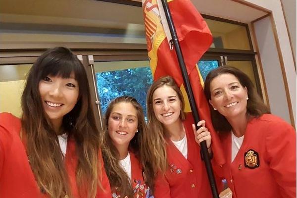 España finaliza séptima en el Mundial Femenino de México. María Parra, octava en el individual