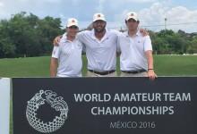 Espectacular comienzo del equipo español en el mundial de México. Son terceros a dos de la cabeza
