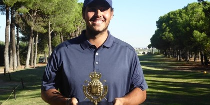 Javier Herranz, ganador en Somosaguas. Se estrena meses después de su paso al mundo profesional