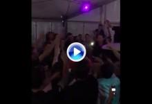 ¡Joost is on fire! Así celebró Luiten el domingo y en el mismo The Dutch su 2º triunfo en casa (VÍDEO)