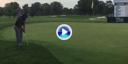 El Golf es duro: Este putt de Flores es uno de los peores que hemos visto últimamente (VÍDEO)