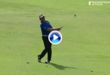 ¡¡Booooommm!! Sensacional golpazo de Miguel Ángel Jiménez en el Open de Italia (VÍDEO)