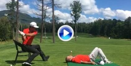 ¡Romain Bechu en estado puro! Ni una lesión de tobillo puede poner fin a sus Trick Shots (VÍDEO)