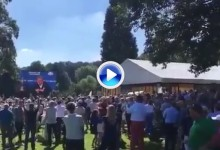Así celebró el Royal Club de Bélgica la inclusión de Pieters en el equipo europeo de la Ryder (VÍDEO)