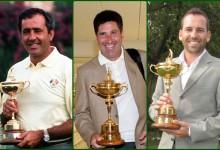 Seve, Olazábal y Sergio estarían en el equipo europeo ideal de la Ryder de todos los tiempos